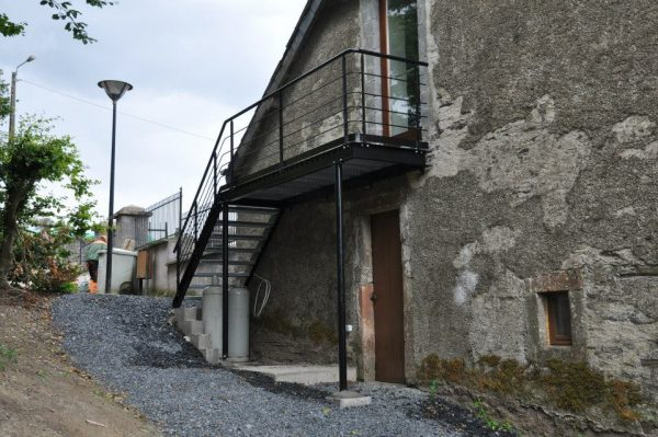 Escalier - Main-Courante - Ferronnerie