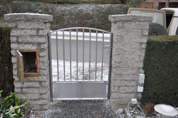 Portail - Barrière - Inox