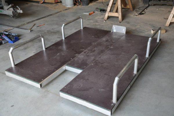 Radeau - Aluminium Soudé